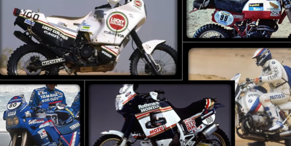 Dakar winning bike collection 1979-1998